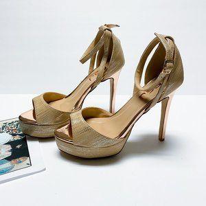 FSJ  Ankle Strap High Stiletto Heel Platform Pumps